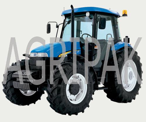 New Holland NH TD95s (2wd, 105hp) Tractor